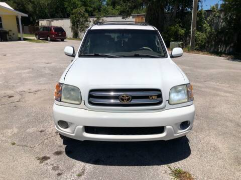 2001 Toyota Sequoia for sale at Louie's Auto Sales in Leesburg FL