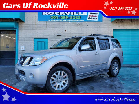 2010 Nissan Pathfinder for sale at Cars Of Rockville in Rockville MD