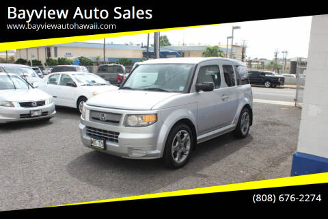2007 Honda Element for sale at Bayview Auto Sales in Waipahu HI