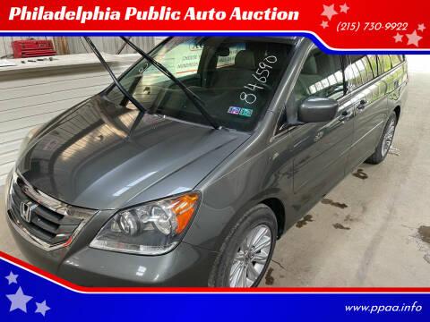 2008 Honda Odyssey for sale at Philadelphia Public Auto Auction in Philadelphia PA