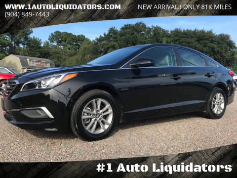 2017 Hyundai Sonata for sale at #1 Auto Liquidators in Yulee FL