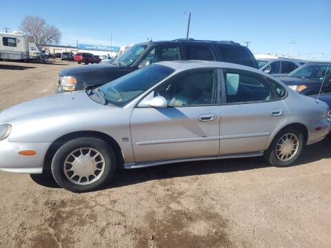 1999 Ford Taurus for sale at PYRAMID MOTORS - Fountain Lot in Fountain CO