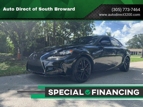 2016 Lexus IS 200t for sale at Auto Direct of South Broward in Miramar FL