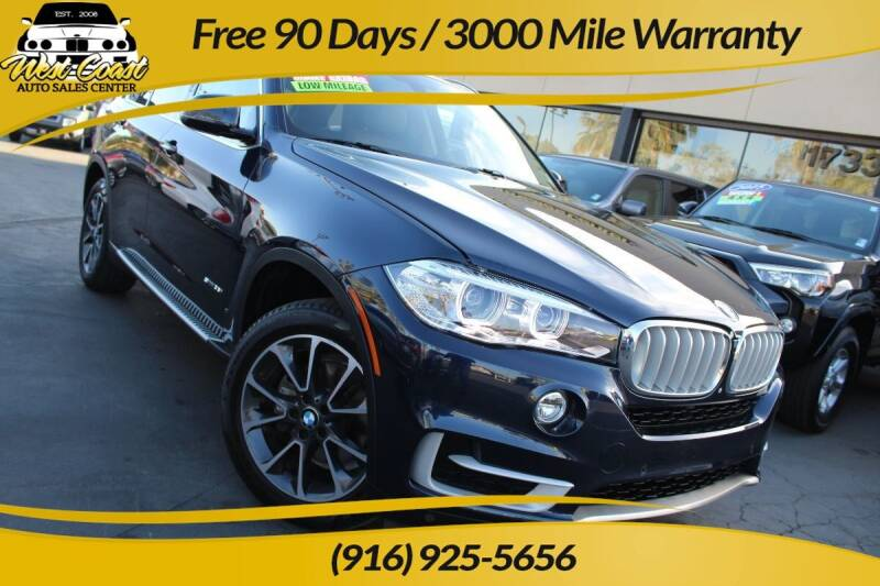 2015 BMW X5 for sale at West Coast Auto Sales Center in Sacramento CA