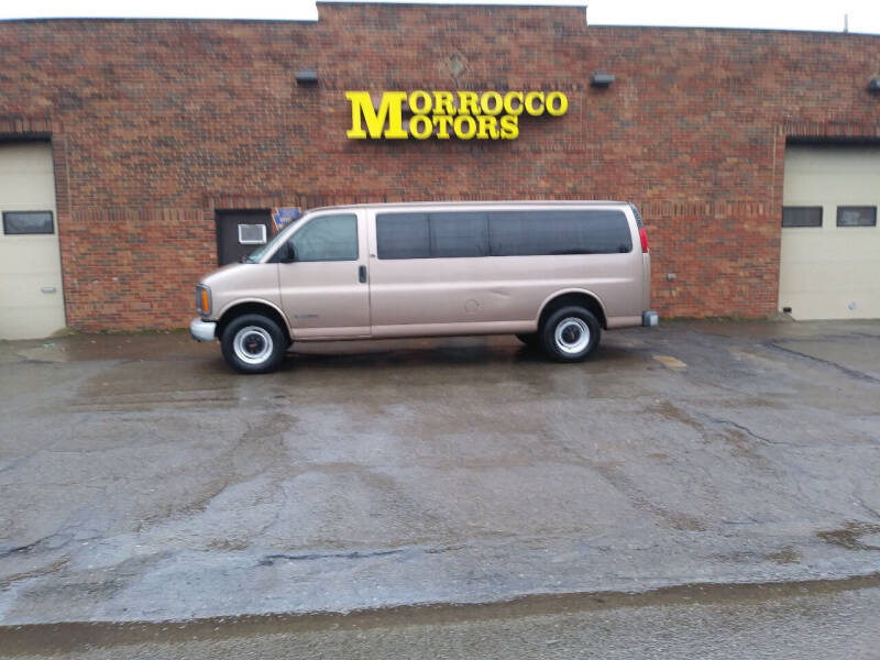 2002 GMC Savana Passenger for sale at Morrocco Motors in Erie PA