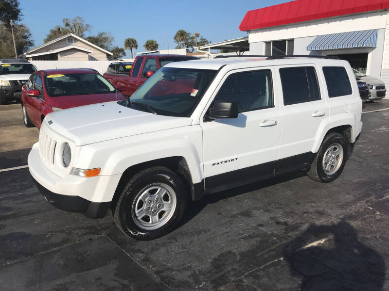 2016 Jeep Patriot for sale at Riviera Auto Sales South in Daytona Beach FL