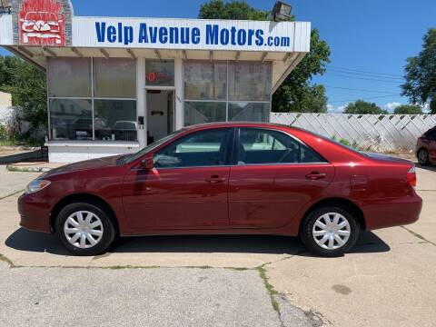 2005 Toyota Camry for sale at Velp Avenue Motors LLC in Green Bay WI