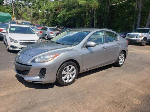 2012 Mazda MAZDA3 for sale at GA Auto IMPORTS  LLC in Buford GA