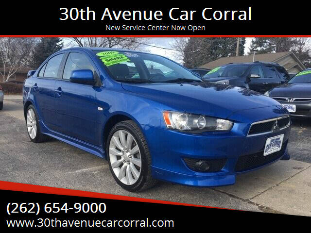2009 Mitsubishi Lancer for sale at 30th Avenue Car Corral in Kenosha WI