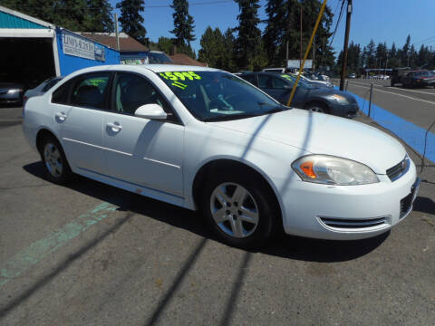 2011 Chevrolet Impala for sale at Lino's Autos Inc in Vancouver WA