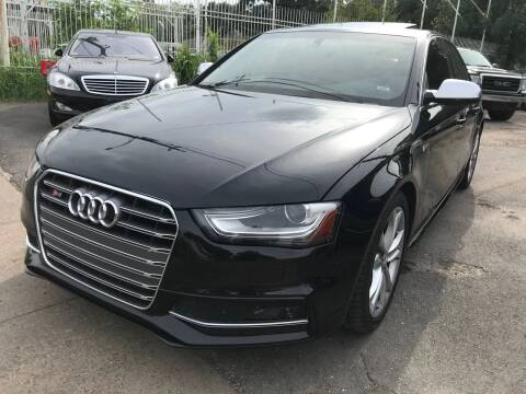 2013 Audi S4 for sale at Texas Luxury Auto in Houston TX