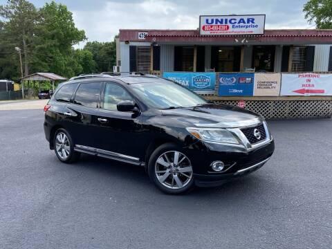 2014 Nissan Pathfinder for sale at Unicar Enterprise in Lexington SC