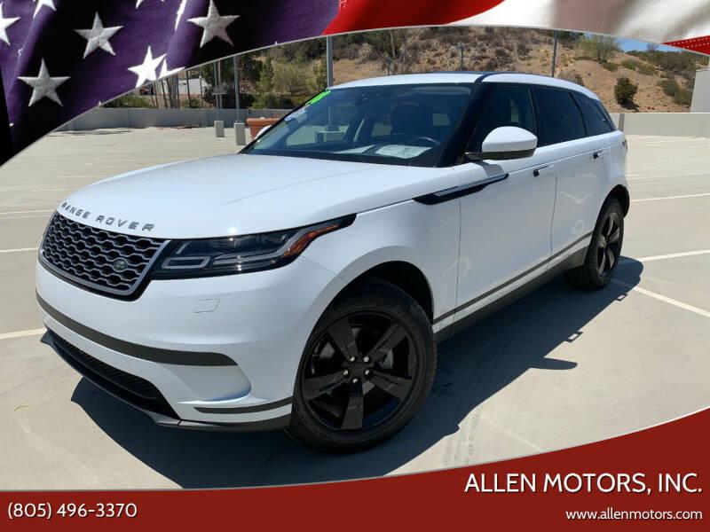2018 Land Rover Range Rover Velar for sale at Allen Motors, Inc. in Thousand Oaks CA