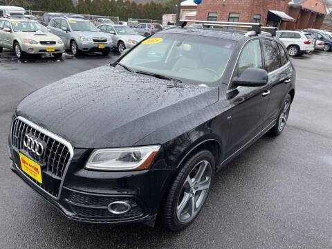 2015 Audi Q5 for sale at KINGSTON AUTO SALES in Wakefield RI