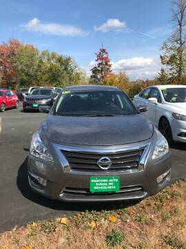 2015 Nissan Altima for sale at Mascoma Auto INC in Canaan NH