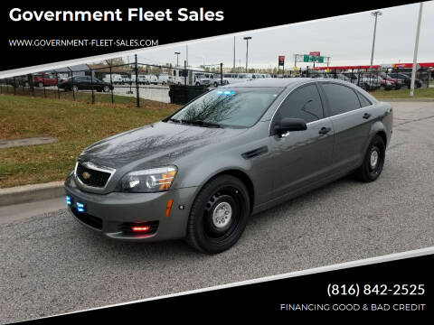 2012 Chevrolet Caprice for sale at Government Fleet Sales in Kansas City MO