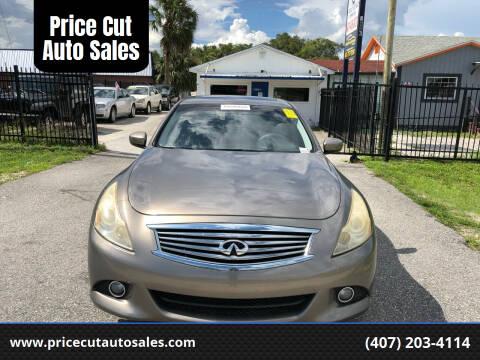2010 Infiniti G37 Sedan for sale at Price Cut Auto Sales in Orlando FL