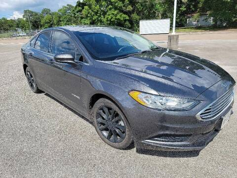 2017 Ford Fusion Hybrid for sale at Stanley Ford Gilmer in Gilmer TX