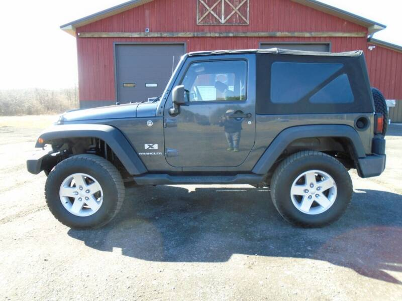 2008 Jeep Wrangler for sale at Celtic Cycles in Voorheesville NY