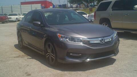 2017 Honda Accord for sale at Global Vehicles,Inc in Irving TX