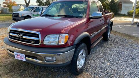 2000 Toyota Tundra for sale at MBL Auto in Fredericksburg VA