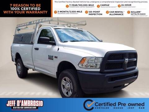 2017 RAM Ram Pickup 2500 for sale at Jeff D'Ambrosio Auto Group in Downingtown PA