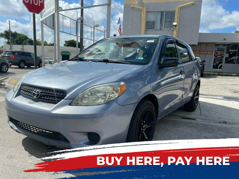 2007 Toyota Matrix for sale at Global Auto Sales USA in Miami FL