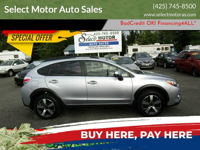2014 Subaru XV Crosstrek for sale at Select Motor Auto Sales in Lynnwood WA