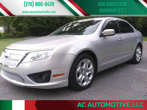2010 Ford Fusion for sale at AC AUTOMOTIVE LLC in Hopkinsville KY
