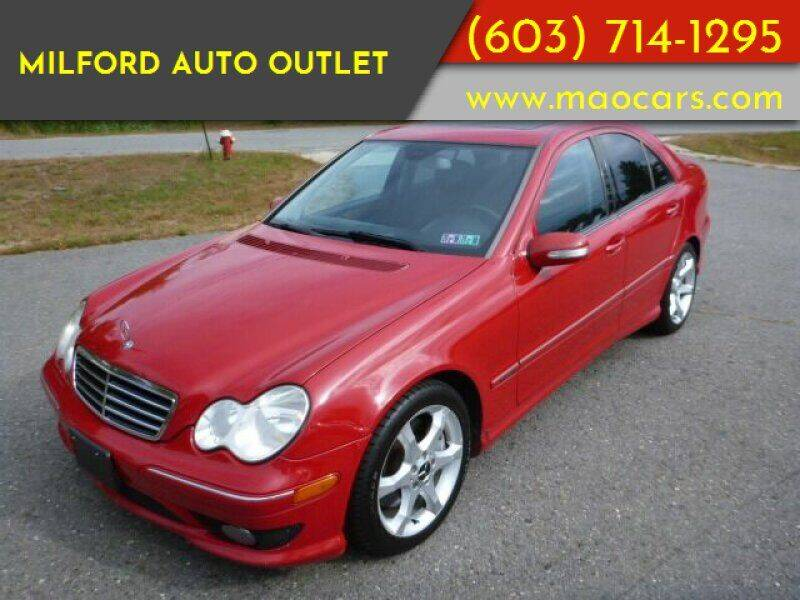 2007 Mercedes-Benz C-Class for sale at Milford Auto Outlet in Milford NH