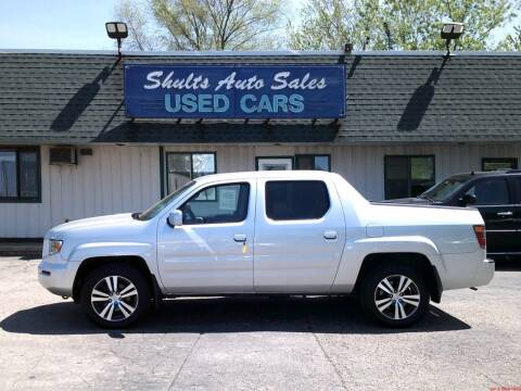 2006 Honda Ridgeline for sale at SHULTS AUTO SALES INC. in Crystal Lake IL
