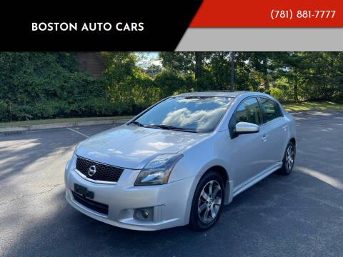 2012 Nissan Sentra for sale at Boston Auto Cars in Dedham MA