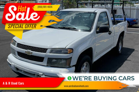 2008 Chevrolet Colorado for sale at A & R Used Cars in Clayton NJ