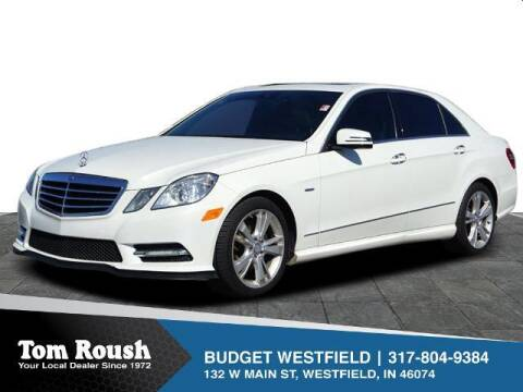 2012 Mercedes-Benz E-Class for sale at Tom Roush Budget Westfield in Westfield IN