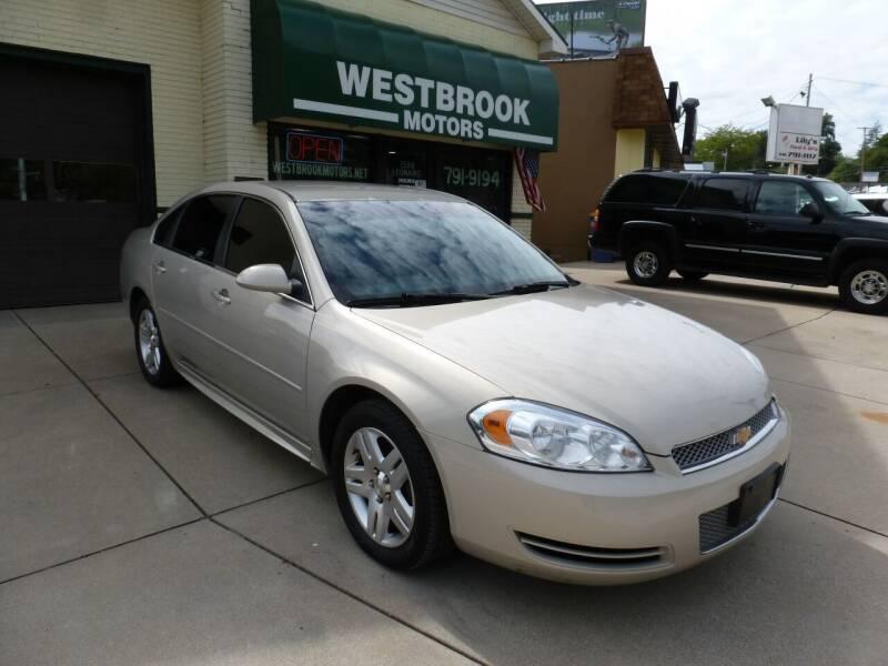2012 Chevrolet Impala for sale at Westbrook Motors in Grand Rapids MI