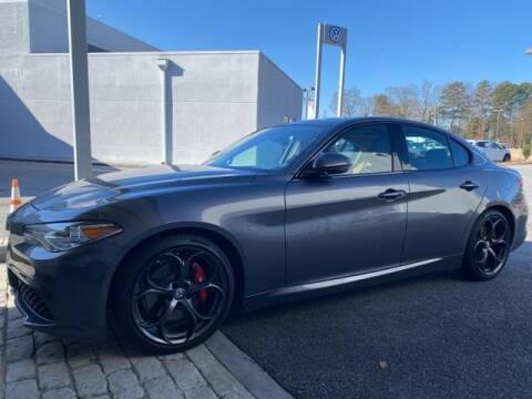 2017 Alfa Romeo Giulia for sale at CU Carfinders in Norcross GA
