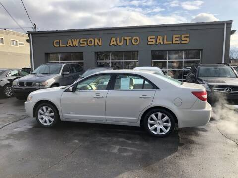 2007 Lincoln MKZ for sale at Clawson Auto Sales in Clawson MI