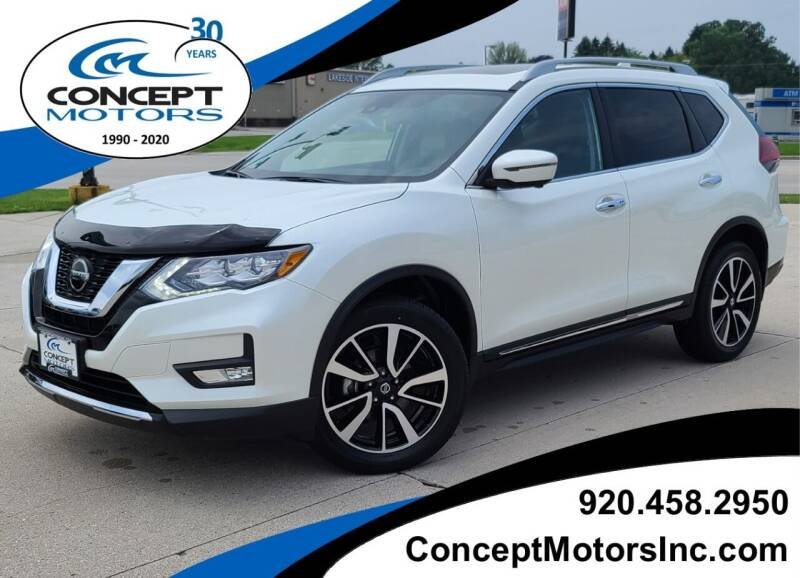 2020 Nissan Rogue for sale at CONCEPT MOTORS INC in Sheboygan WI