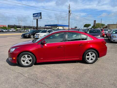 2013 Chevrolet Cruze for sale at Iowa Auto Sales, Inc in Sioux City IA