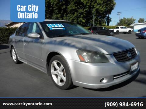 2006 Nissan Altima for sale at Car City Ontario in Ontario CA