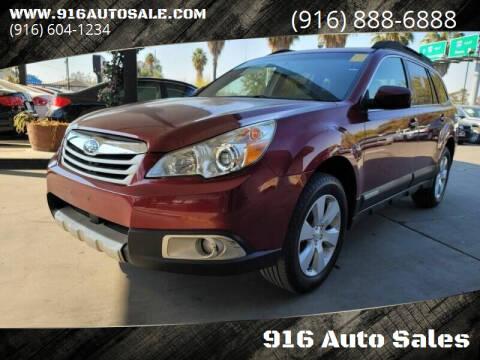 2011 Subaru Outback for sale at 916 Auto Sales in Sacramento CA