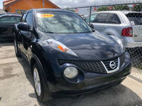 2013 Nissan JUKE for sale at VC Auto Sales in Miami FL