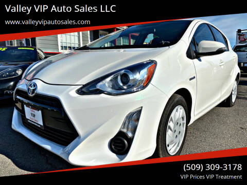 2015 Toyota Prius c for sale at Valley VIP Auto Sales LLC in Spokane Valley WA