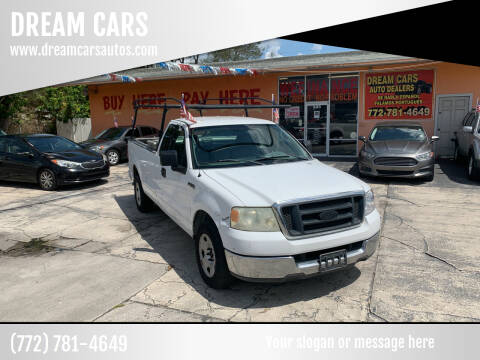 2004 Ford F-150 for sale at DREAM CARS in Stuart FL