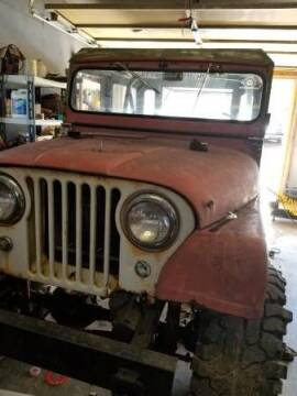1963 Jeep CJ-5 for sale at Classic Car Deals in Cadillac MI