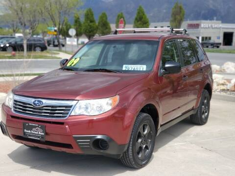 2009 Subaru Forester for sale at FRESH TREAD AUTO LLC in Springville UT