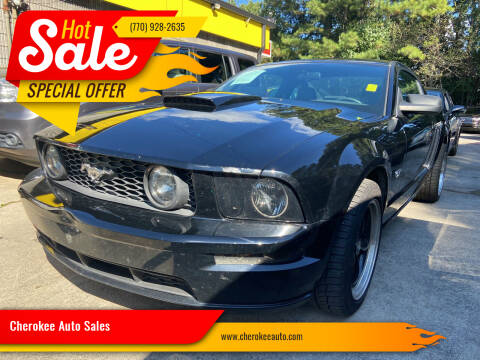 2008 Ford Mustang for sale at Cherokee Auto Sales in Acworth GA