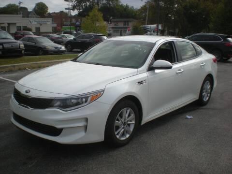 2016 Kia Optima for sale at 611 CAR CONNECTION in Hatboro PA