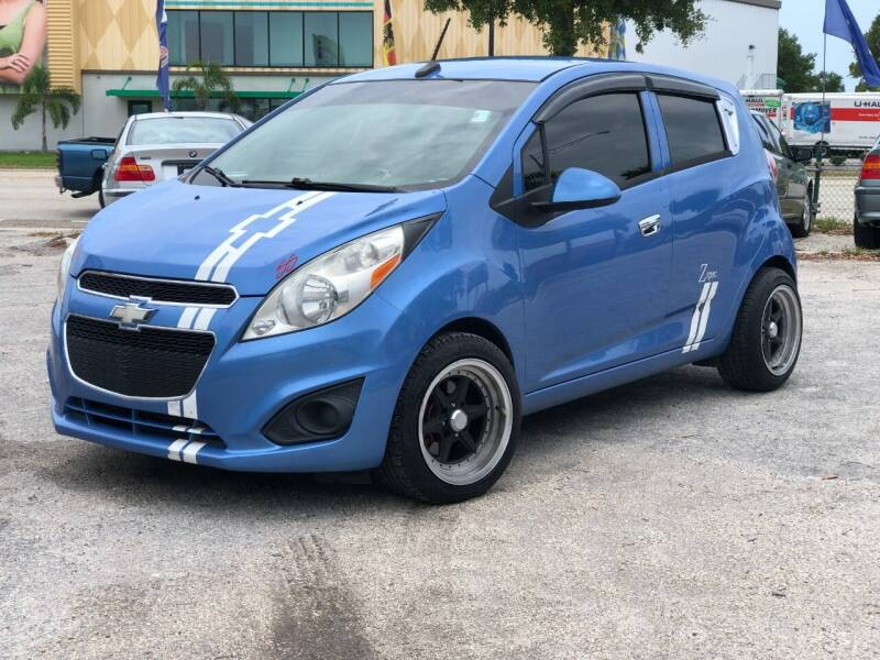 2013 Chevrolet Spark for sale at Pro Cars Of Sarasota Inc in Sarasota FL
