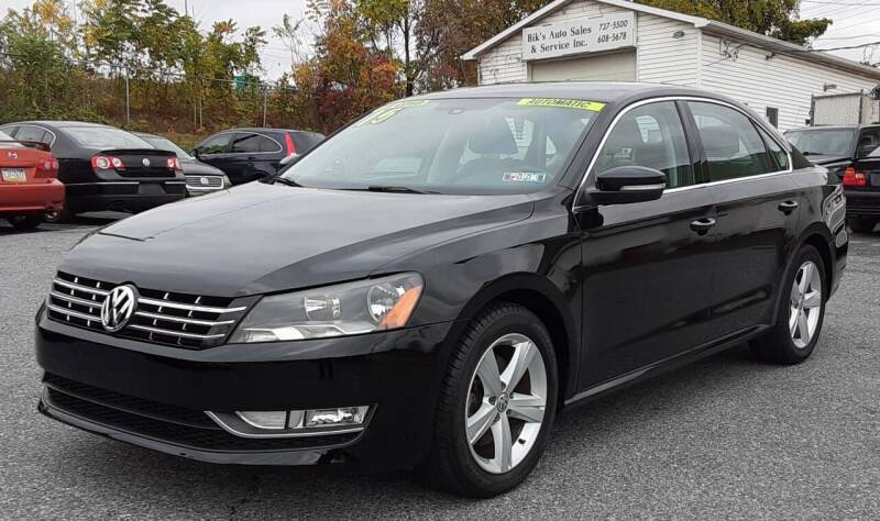 2015 Volkswagen Passat for sale at Bik's Auto Sales in Camp Hill PA
